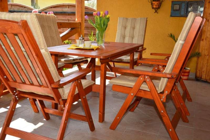 BONANZA  Gartengarnitur für 6 Personen